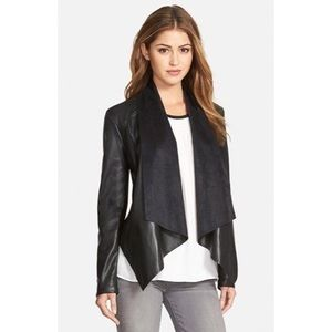 Kut From The Kloth 'Ana' Faux Leather Drape Jacket